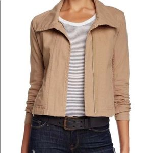 James Perse Tan Standard Cotton jacket